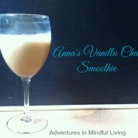 Anna's Vanilla Chai Smoothie