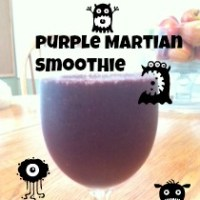 Purple Martian Super Smoothie