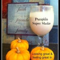Pumpkin Super Shake