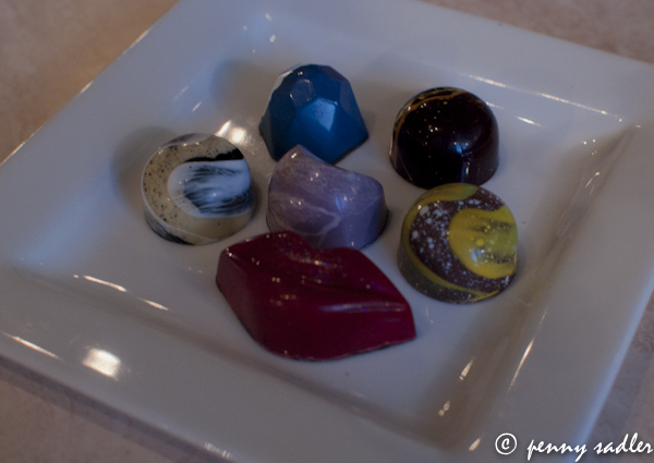 5 Great Places for Jazz in Dallas Gourmet chocolates at Chocolate Secrets, Dallas, Texas @PennySadler 2013