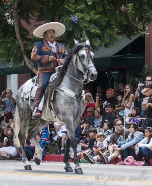 Fiesta Parade Santa Barbara @PennySadler 2014