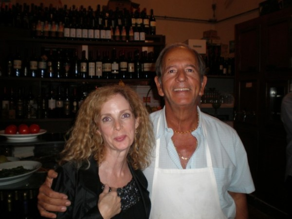 """Blondie""about the Roman Trattoria owner."