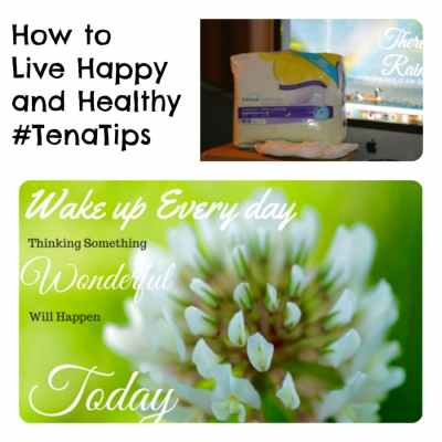 How to Live happy and healthy #TenaTips
