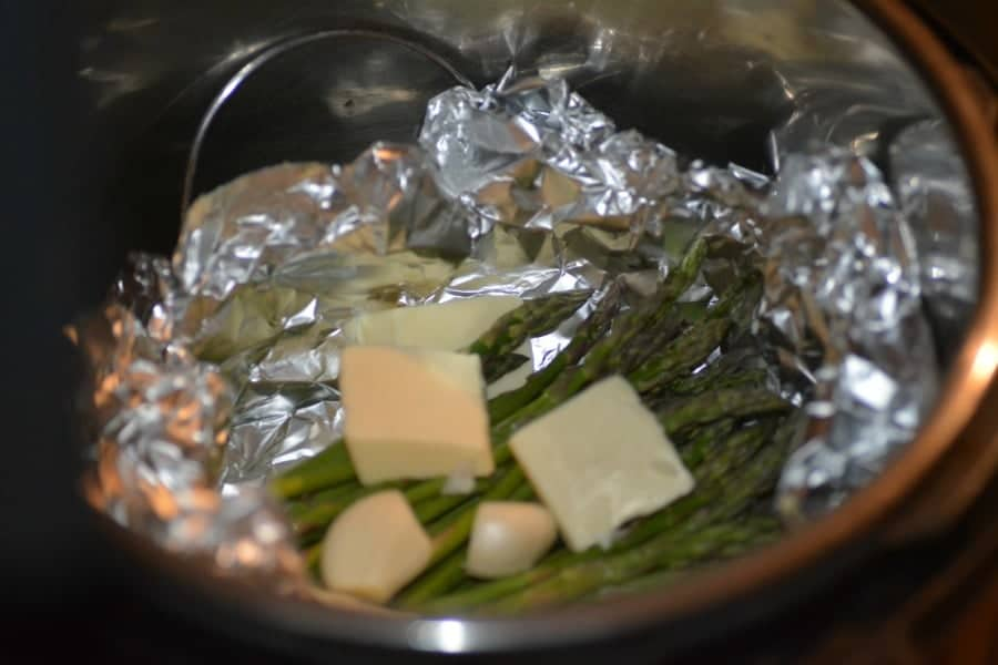 how to cook asparagus in the instant pot