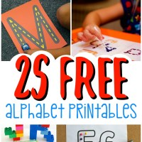 Alphabet printable's for learning the a,b,c's