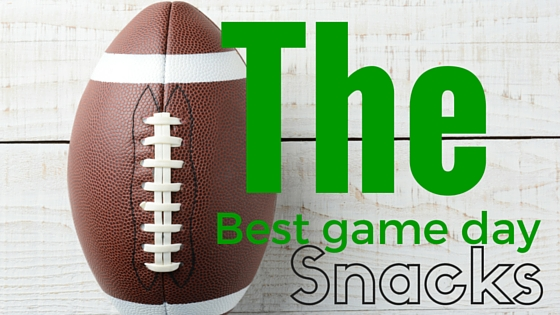 The best game day snacks