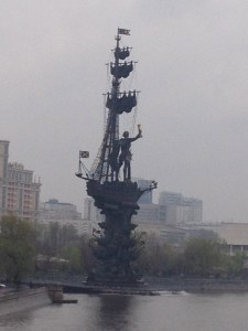 """controversial sculpture, """"Peter the Great"""""""