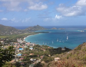 Overlooking Tyrrel Bay, Carriacou Island