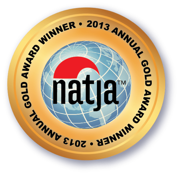 NATJA SEAL-Gold winner