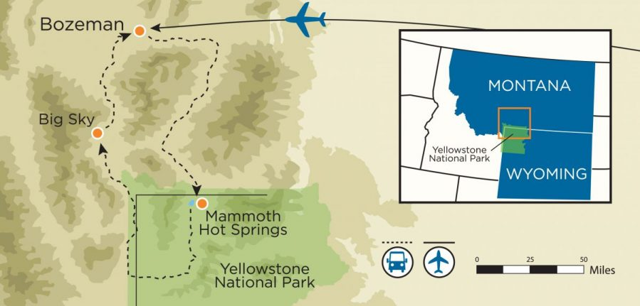 Yellowstone Womens Vacation Yellowstone National Park