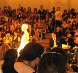 Mercedes Benz Fashion Week 9/8/07-Temperly London