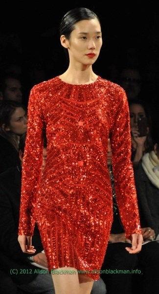 Monique Lhuillier #NYFW Fall 2012