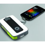 MyCharge Peak 6000 front with phone