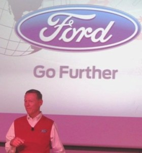 further with ford conference