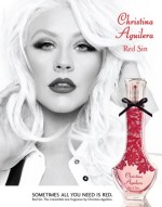 christina fragrance poster