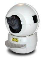 litter robot with cat