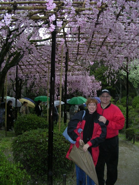 alison and john in kyoto