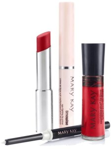 Viva La Difference! You Can Do It! A Flawless Red Lip Viva Red@MaryKay