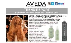 aveda trend report