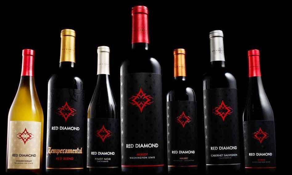 red diamond wine grouping