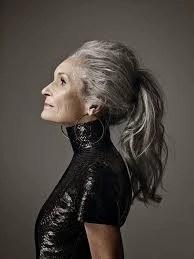 Daphne Selfe, model