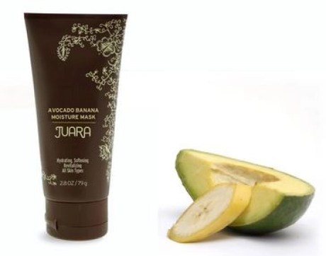 banana avocado moisture mask juara