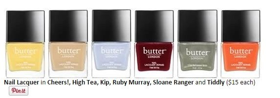 butter london spring nails