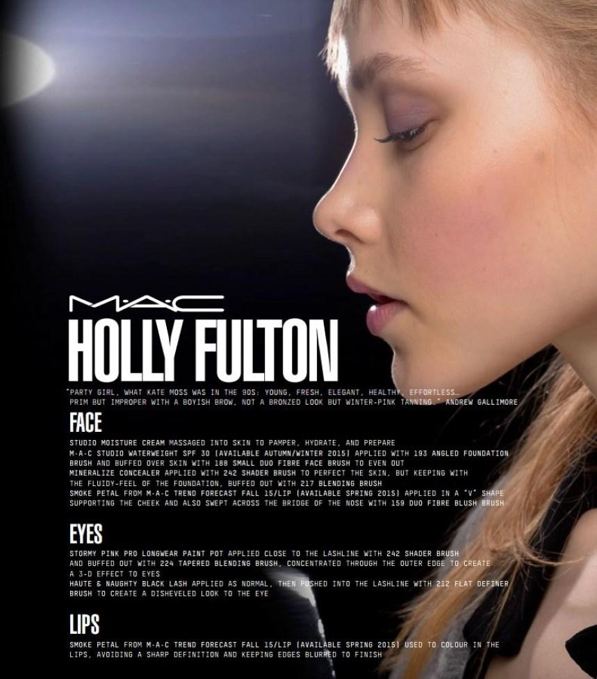 mac face chart holly fulton
