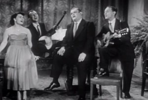 """The Weavers on Wednesday"""" their 1951 videos & Reminiscing About Pete Seeger #music"""