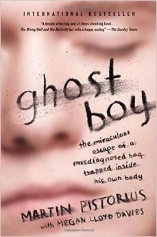 book cover ghost boy