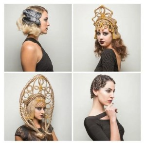 Vintage Glam at Crazy Nights in Paris @ReneFurtererUS, #Marisol, #Hair