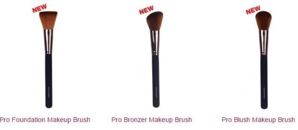 cricket company new makeup brushes