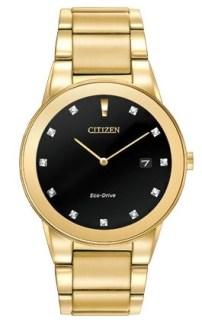 Citizen Eco-Drive AXIOM MODEL: AU1062-56G   MSRP $325