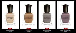 DEBORAH LIPPMAN'S SUMMER 2015 NAIL COLLECTION: PAINTED DESERT @deborahlippmann