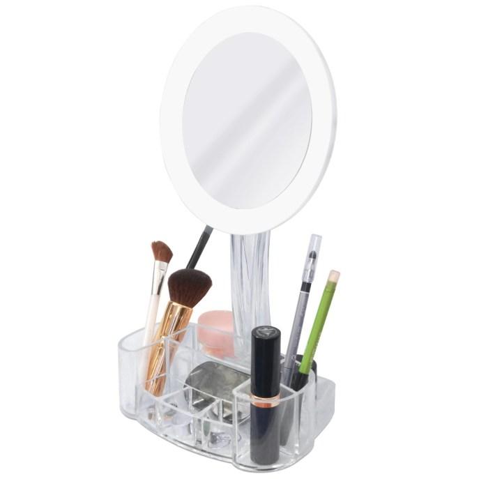 toilet tree led mirror with base