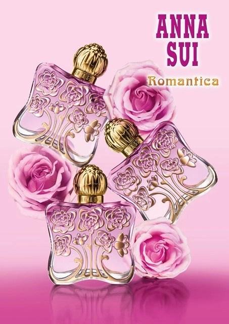 SP Anna Sui Romantica 3 bottles