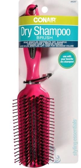 conair dry shampoo brush