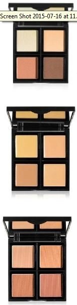 Contour, Foundation and Bronzer palettes from e.l.f.