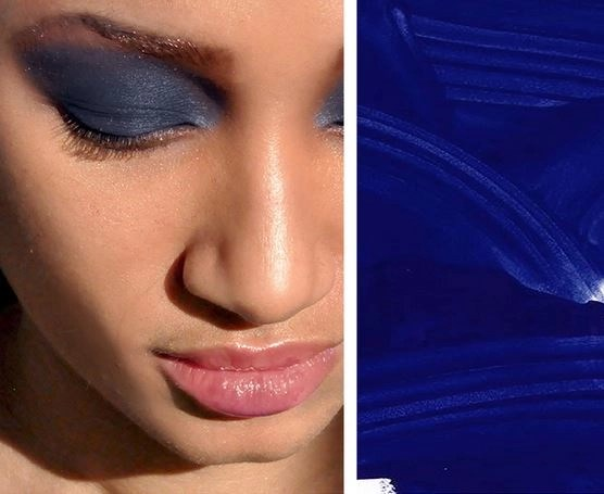 """Face Stockholm Fall 2015 blue Matte Eye Shadow """"Style"""""""
