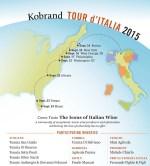 kobrand tour ditalia wine tour invitation