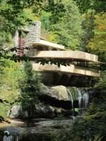 Frank Lloyd Wright's masterpiece, Fallingwater