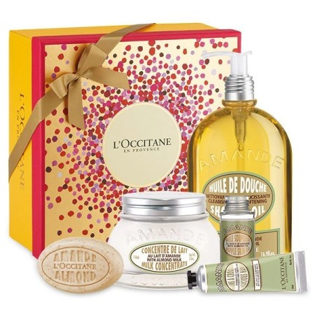 delicious almond set by loccitane