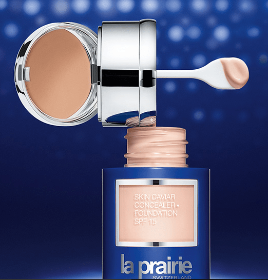 This is THE most elegant foundation gift ever, from La Prairie@laprairie_usa, #beauty, #gifts