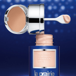la prairie foundation spf 15 caviar open jar