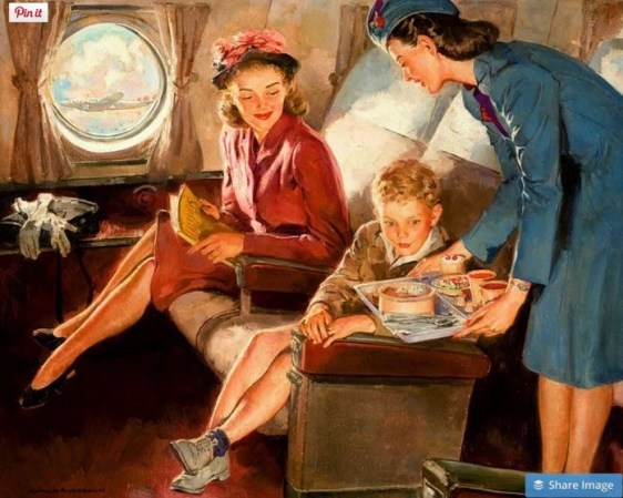 airplane travel is not like this any more
