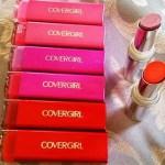 cover girl lipsticks