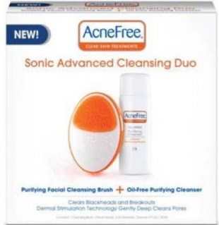 acne free sonic advanced cleansing duo