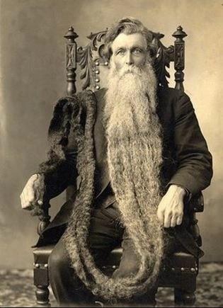 very long beard
