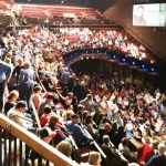 a view of the Grand Ole Opry audience