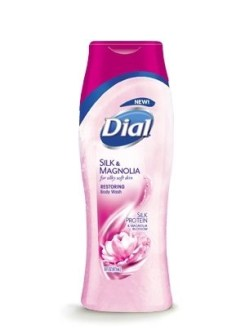 dial silk and magnoilia body wash